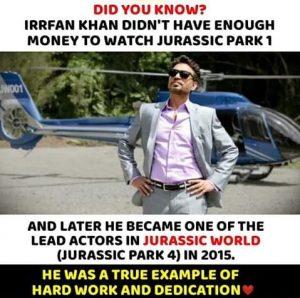 Irfan khan movies