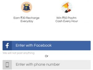 Task bucks free recharge and paytm cash