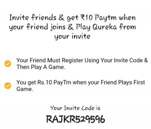 Qureka Referral Code