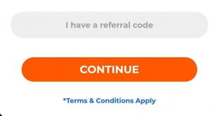 dhani referral code option