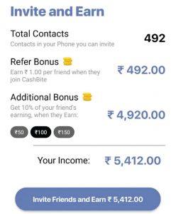 Cashbite Refer & EArn