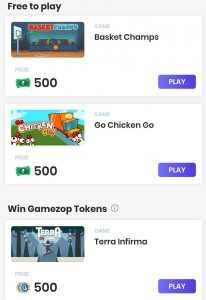 Earn from playing games