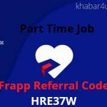 Frapp Referral Code