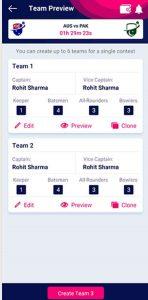 Creating Multiple Teams