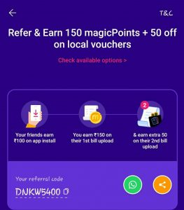 Magicpin App Referral Code