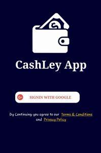 Cashley App Login