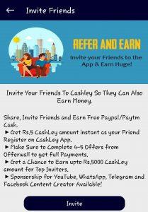 Cashley Referral Code