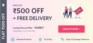 Myntra New User Offer