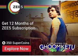 Zee5 Subscription in Free