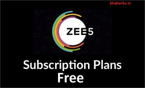 Zee5 Free Subscription