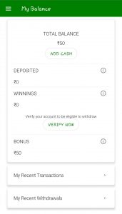 MyFab11 Cash Bonus