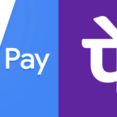 Google Pay and Phone Pe