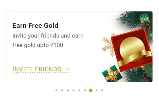 India Gold Referral Code