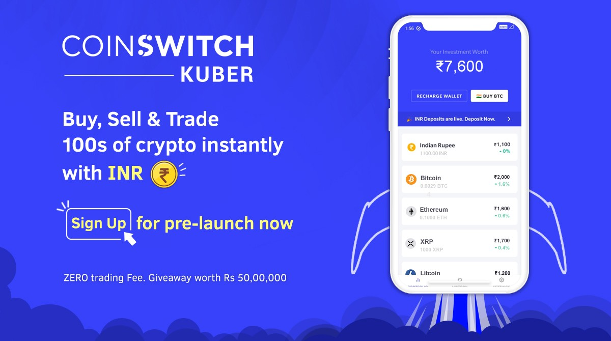 CoinSwitch Kuber App referral Code