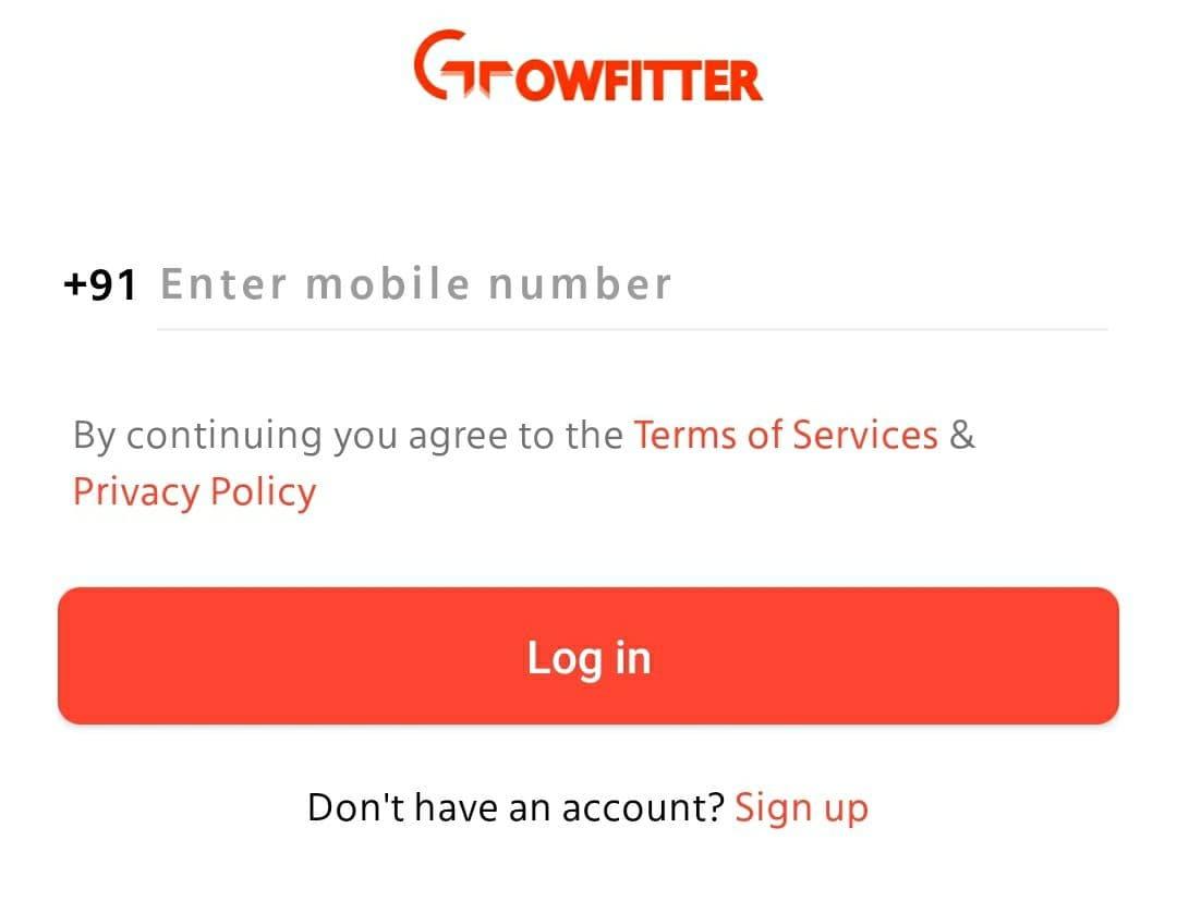 Growfitter Referral Code