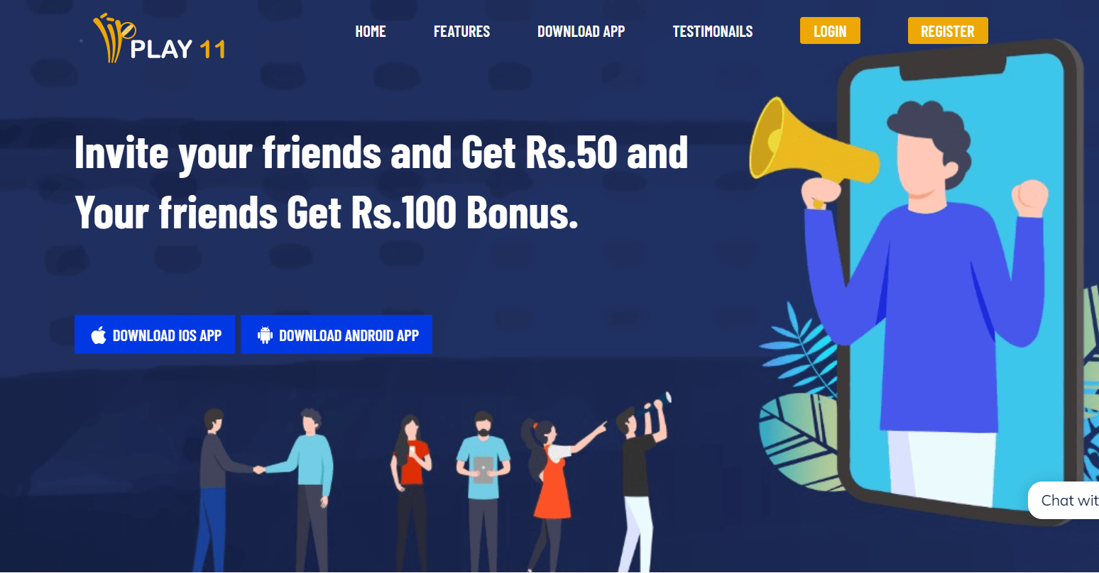 Play11 Referral Code