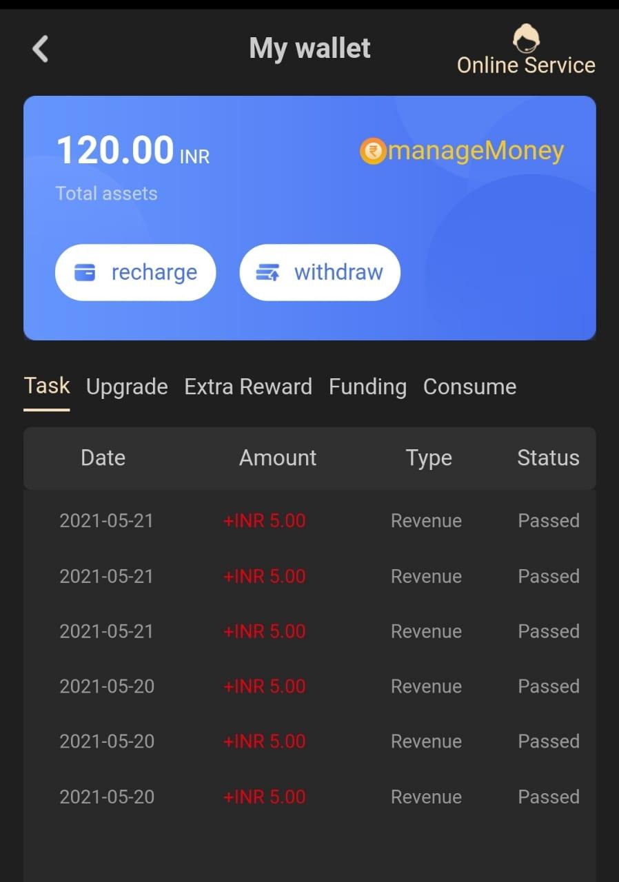 Earn Money from Mgtask