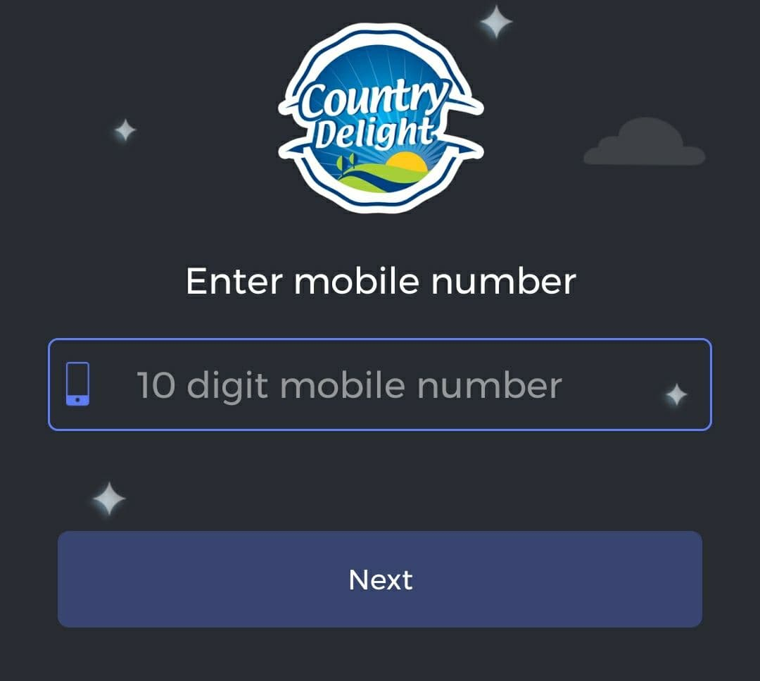 Country Delight Sign Up