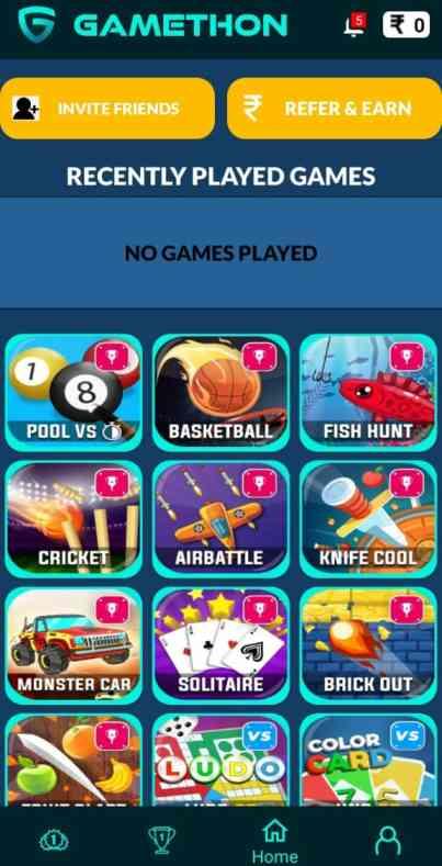 Gamethon Games Earn Money