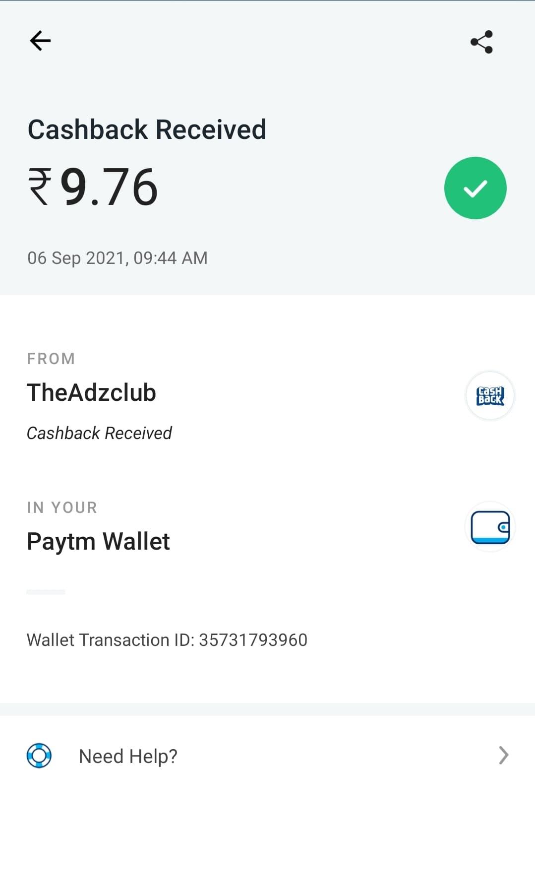 Cashadda free paytm cash